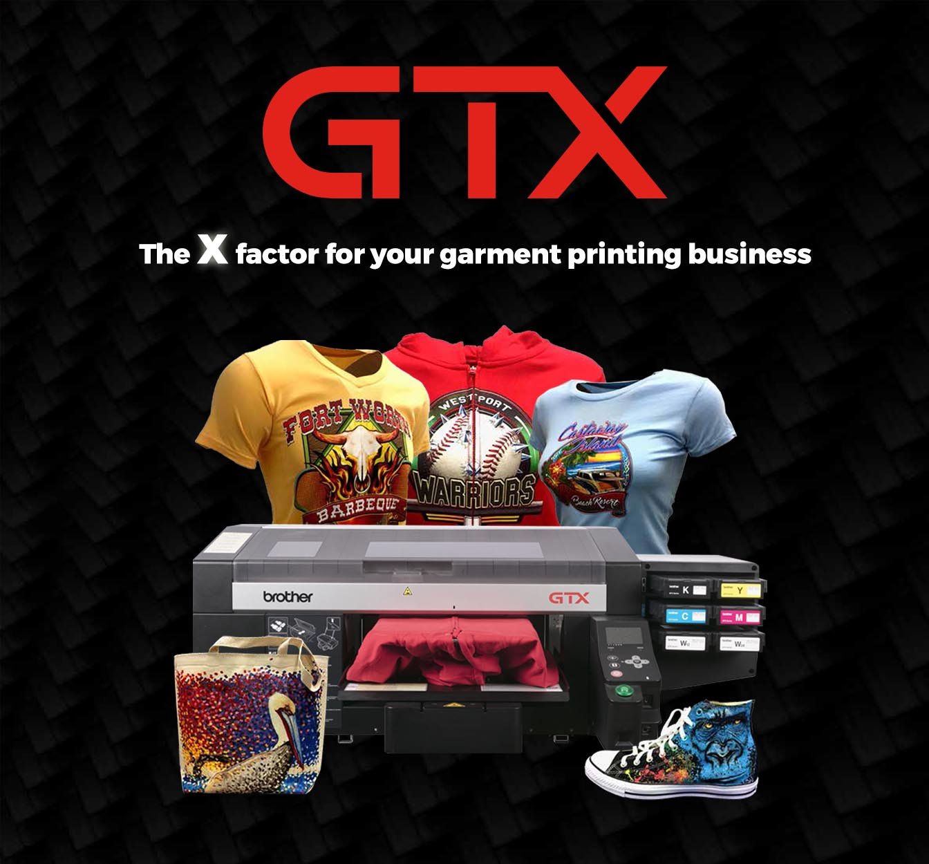GTX - The X factor for your garment printing business